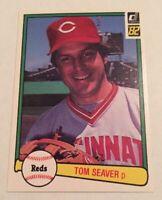 1982 Donruss #148 TOM SEAVER  HOF  Mint rare R.I.P  ONE OF LAST CARDS AS REDS