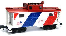 BiCentennial 1776 Red White & Blue Flag Bowser N-5 Caboose BOW37245 N Scale NIB
