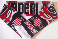 SUNDERLAND Football Scarf NEW from Superior Acrylic Yarns