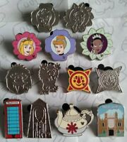 2011 Hidden Mickey Collection Set WDW Choose a Walt Disney World Pin
