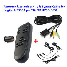 Control Pod Bypass Cable +Computer Speaker Remote for Logitech Z5500 pre636 PIDs