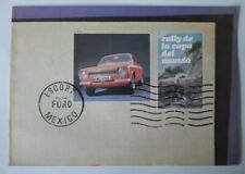 FORD ESCORT MEXICO MK1 orig 1970 1971 UK Mkt Sales Brochure - Pre RS