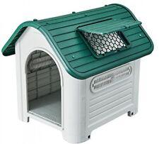 Plastic dog houses for medium dogs - 35'' Waterproof luxurious roof skylight