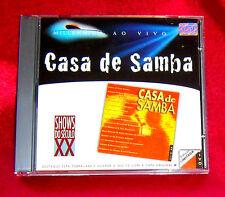 Casa De Samba Ao Vivo CD