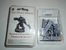 Warhammer 40k Horus Heresy Praetor In Cataphractii Terminator Armour Event Ltd