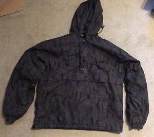 E.S.P Camo Hooded Jacket Carp Fishing Medium