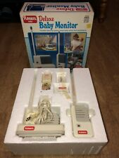 Toy Story Rare VINTAGE 1987 Playskool Portable Deluxe Baby Monitor 5590 - Works!