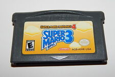 Gameboy Advance Super Mario Bros. 3 WORKING  R15489