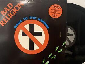 Bad Religion – Back To The Known EP 1985 Epitaph – EPI-BREP-2 VG+/EX - ORIGINAL!