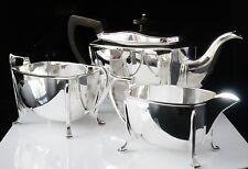 ART Deco Silver Teaset, Sheffield 1940, Cooper Brothers & Sons Ltd