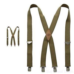 Dickies Mens Elastic Work Suspender Braces