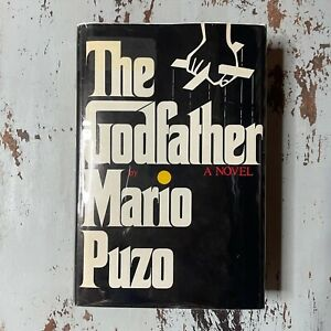 The Godfather Hard Cover Book 1969 - 1st Book Club Edition