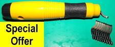 Deburring tool set with 10 HSS blades QUALITY set BSG10