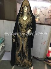 Real Bling Boda Marroquí Maxi Dubái Boda Vestido Caftán para Mujer Vestido 4894