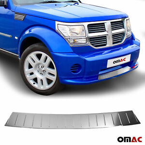 Fits Dodge Nitro 2007-2012 Chrome Front Bumper Trim Sill Plate Stainless