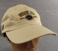 Chapel Hill Golf Baseball Hat Ball Cap Adjustable Khaki Tan Beach Strapback