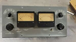 PAIR DAVEN WESTERN ELECTRIC ATTENUATOR AND VU METER PRE AMP PROJECT