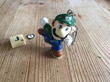 Super Mario Bros Keyring - Luigi Keyring - Very Rare - Official Nintendo 1992