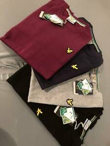 LYLE AND SCOTT LONG SLEEVE CREW-NECK JUMPER FOR MEN -All colour