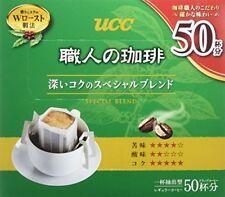UCC drip coffee Special blend deep taste box Lots 50 bags 350g japan f/s