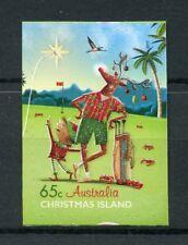 Christmas Island Australia 2017 MNH Christmas 1v S/A Set Crabs Trees Golf Stamps