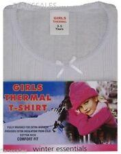 Camiseta de niña de 2 a 16 años de manga corta color principal blanco