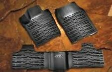 2011-2012 Jeep Grand Cherokee Rubber Slush Mats OEM Mopar 82212172AC