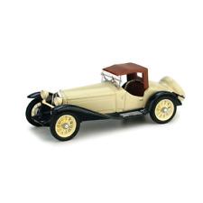 ALFA ROMEO 2300 CON CAPOTE 1931 BICOLORE CREMA/BLU 1:43 Brumm Auto d'Epoca