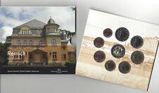 Luxemburg Coffret-Bu set 2020 Remich  **9 munten 1ct---2 euro +2 euro com 2020**