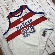 Michael Jordan Jersey Mens 4XL Nike NBA Authentic Bullets 23 Length Plus 2