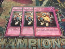 Yu-Gi-Oh Mind Crush SOD-EN056! Common! X3! Played