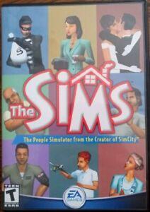 The Sims PC Game CD-ROM Original 2000 EA