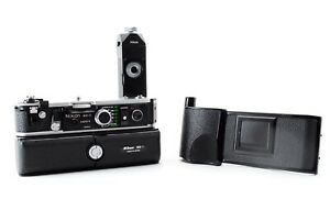 """""""EXC +5"""" Nikon MD-2 Motor Drive + MB-1 Battery Pack + MF-3 for F2 Japan 0682"""