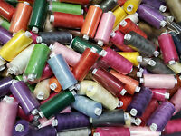 Sewing Thread Polyester 120 Moon - Coats 10 20 50 Assorted Colours 1000 yd reels