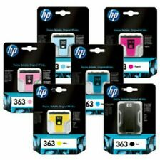 HP 363 SET OF 6 INKS **New** - Box Damage Discount!