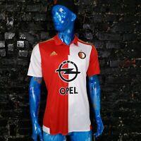 Feyenoord Jersey Home football shirt 2015-2016 Adidas AA0592 Trikot Mens Size L