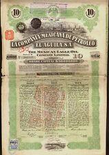 "MEXICO Comp Mexicana de Petroleo "" EL AGUILA"" Mexican Eagle Oil San Luis Potosi"