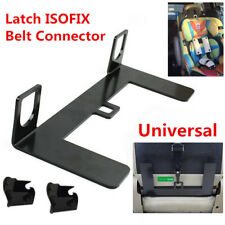 5mm Thicken Steel Latch ISOFIX Car Seat Belt Connector &Interfaces Guide Bracket