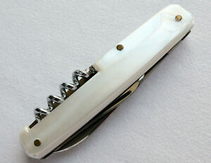 Mercedes Benz Classic Car Accessory Huba Bottle Opener Pocket Knife Pocketknife