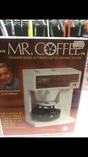 1970'S VINTAGE -MR COFFEE CB-600 AUTOMATIC COFFEE MAKER-NOS.. New In Box