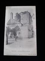 """CPA 03 (Allier) """"MOULINS"""" Château des ducs de Bourbon / Old French Postcard"""
