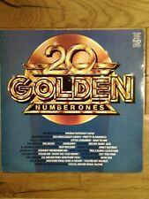Various Artists  20 Golden Number Ones MFP 50491 Vinyl, LP, Compilation