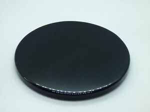 Black Obsidian Scrying Mirror 95-105mm (UK based crystal shop, stock & shipping)