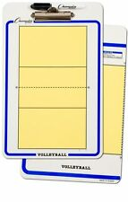 "NEW Champion Dry Erase 2 Sided Volleyball Coaches Board Marker Size 11""x16"""