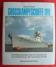 """""""GROSSKAMPFSCHIFFE 1905-1970""""~SCHLACHTSCHIFFE und SCHLACHTKREUZER~S. BREYER"""
