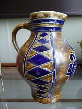 Vintage Goebel Hand Signed and Numbered Pottery Pitcher Germany Salzglasur