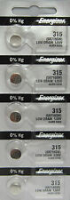 Energizer 315 (SR716SW) Silver Oxide Watch Batteries (1 pack of 5)