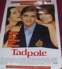 Cinema Poster: TADPOLE 2002 (One Sheet) Sigourney Weaver Aaron Stanford