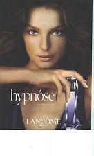 PUBLICITE ADVERTISING   2006   LANCOME   le parfum féminin  HYPNOSE