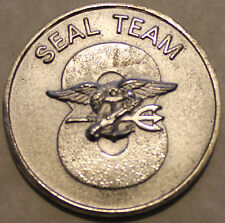 Seal Team Eight  Freddie and Sammie Navy Challenge Coin - 8